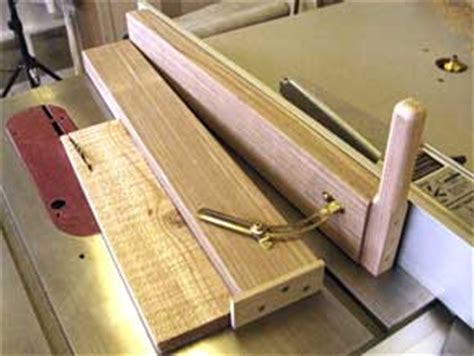 table saw angle jig the runnerduck tablesaw taper sled by