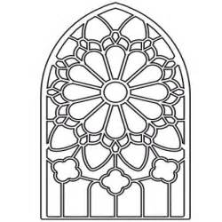 poppystamps die by memory box grand gothic stained glass