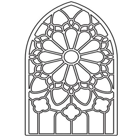 Stained Glass Coloring Pages free coloring pages of windows