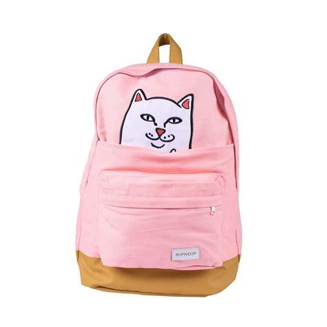 ripndip lord nermal backpack pink beyond