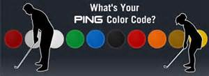 ping color dots 10 best images of ping putter color code chart ping grip