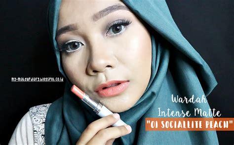 Lipstik Wardah Yang Pake Kuas review wardah matte lipstick socialite