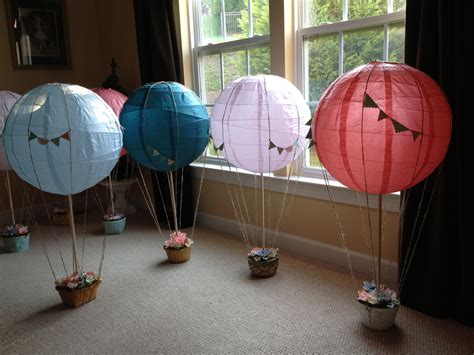 handmade hot air balloon centerpieces for sale our