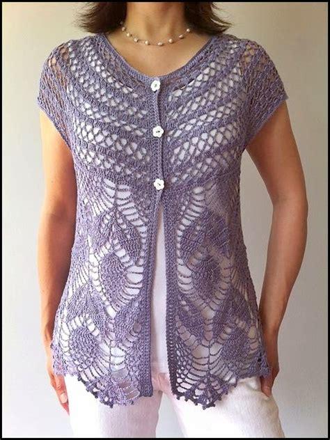 fotos de chalecos tejidos crochet fabric crochet ganchillo patrones graficos