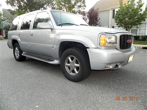 how does cars work 2000 gmc yukon denali auto manual buy used 2000 gmc yukon denali 4x4 awd one owner private sale great truck no reserve in