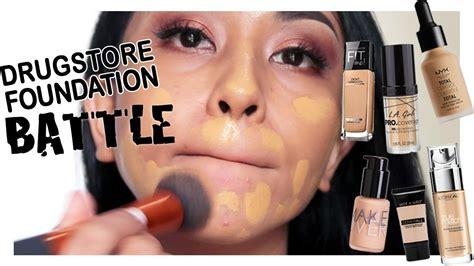 Foundation Maybelline Untuk Kulit Berminyak drugstore foundation battle untuk kulit gelap makeover la nyx maybelline loreal wetn