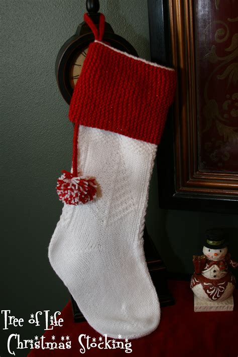 free knitting pattern for large christmas stocking happy holidays christmas stocking pattern 171 kb looms blog