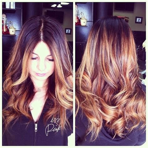 honey brown hair with ombre brunette and honey brown blonde ombr 233 hair beauty