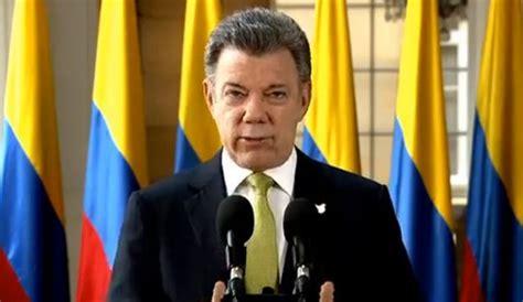 presidente de colombia 2016 eln reconoce que este es el momento de la paz la