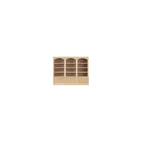 Shelf Of Sec by Bookcase 3 Sec 4 Shelf Dollhouse Office Bookcases