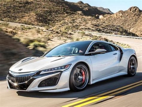 2017 acura nsx first review kelley blue book