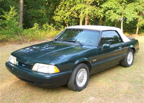 limited edition 1990 1993 ford mustangs mustang tech