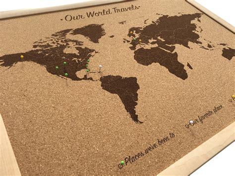 us map on cork board cork board world map includes 100 map pins push pin