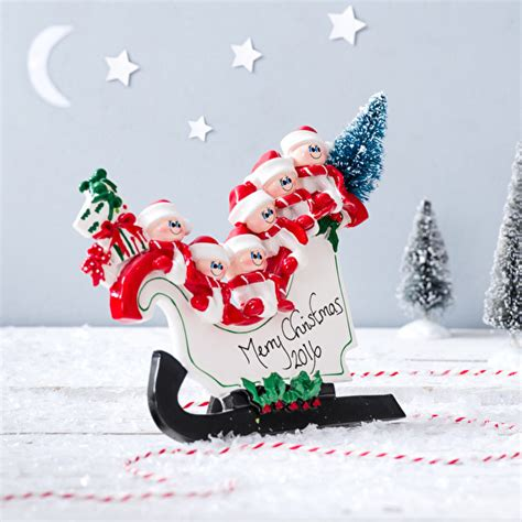 stand up sleigh christmas decoration