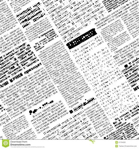 Newspapers Background Stock Illustration 294853400 Newspaper Background Clipart Clipart Suggest