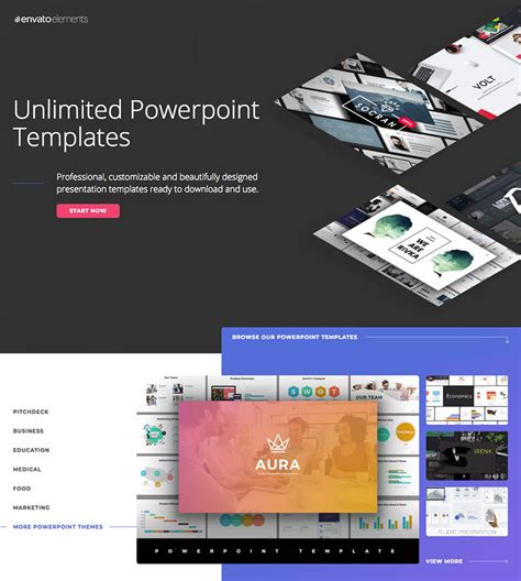 15 Best Powerpoint Presentation Templates With Great Infographic Slides Envato Powerpoint Templates