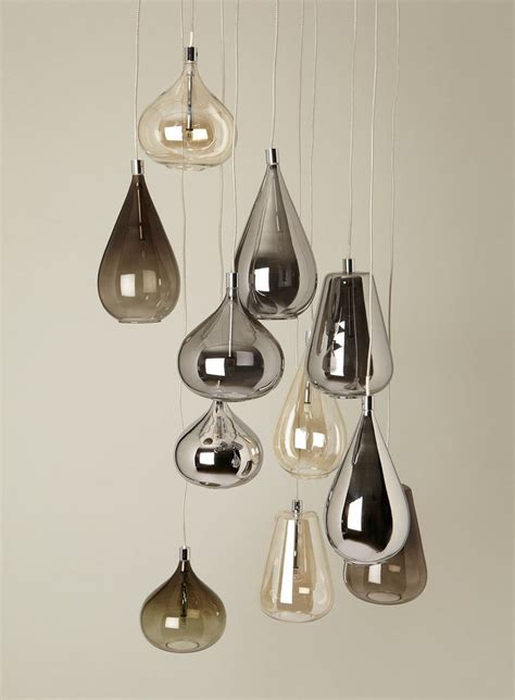 Bhs Pendant Light Smoke Nadine Cluster Lighting Beleuchtung Luminaires Design Bhs Design Lighting