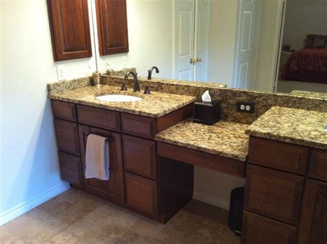 bathroom granite countertops ideas santa cecilia granite bathroom countertops ideas