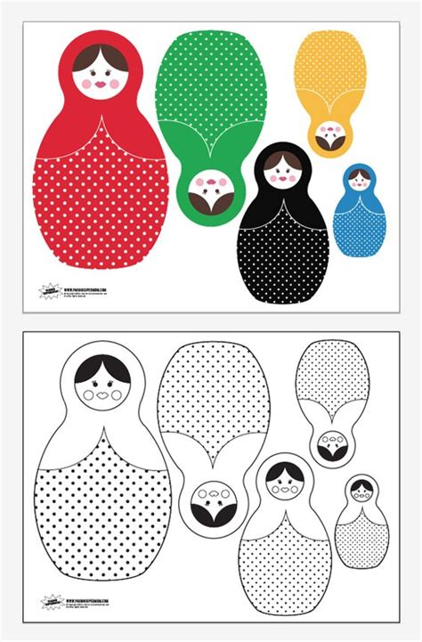 libro matriochka free printable russian dolls for sochi winter olympics from paging supermom make sure to