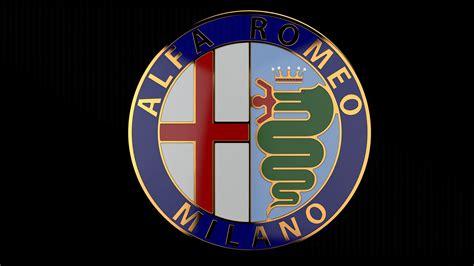Alfa Romeo Badge by Alfa Romeo Badge Free 3d Model Stl Sldprt Sldasm