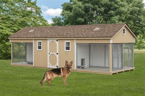 amish dog houses for sale k 9 police 4 dog custom built outdoor kennel house w run amish pa dutch shed ebay