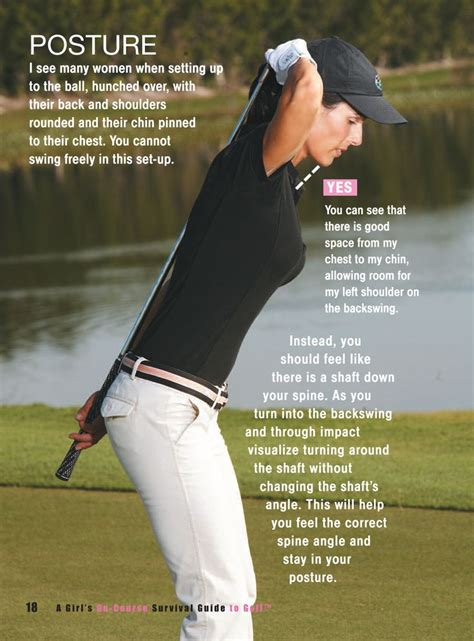 golf swing posture drills good posture for good shots good to know pinterest