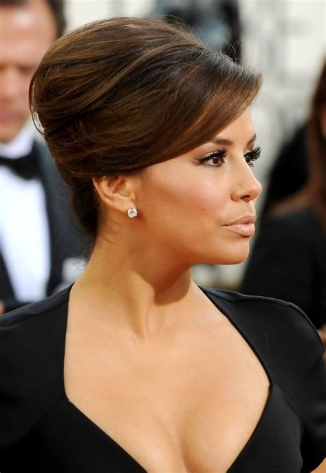 most popular sleek classic french twist with side bangs 2013 best french twist updo hairstyle hairstyles weekly