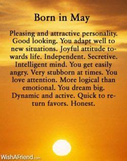 born gifted meaning born in may it takes time for me to adapt to new