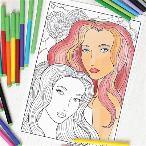 for adults two coloring page for adults easy peasy and