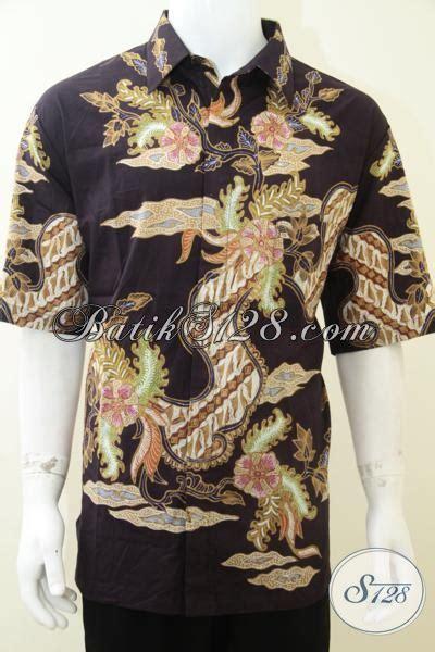 Baju Gamis Pria Ukuran Jumbo baju batik pria ukuran besar keren batik tulis big size jumbo lengan pendek ld1923t