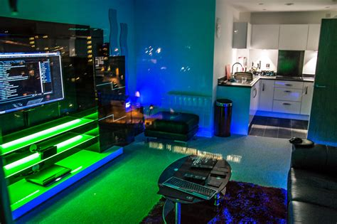 Cool Gaming Bedrooms by Gaming Setup Room Tour Bedroom