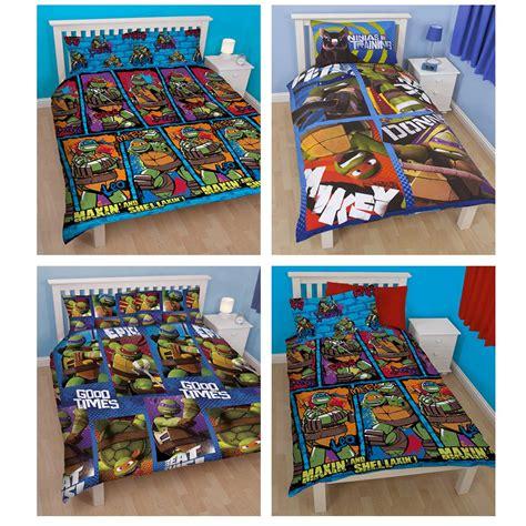 tmnt bedroom set teenage mutant ninja turtles duvet covers single bedding