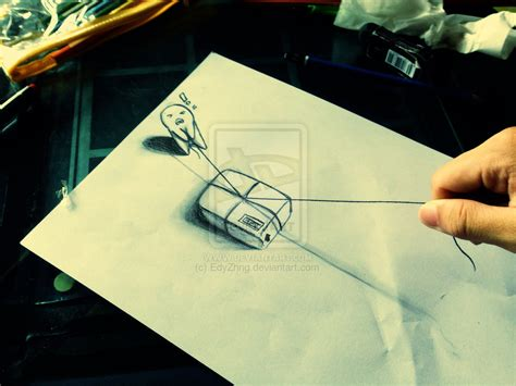3d drawing 3d drawing package by edyzhng on deviantart