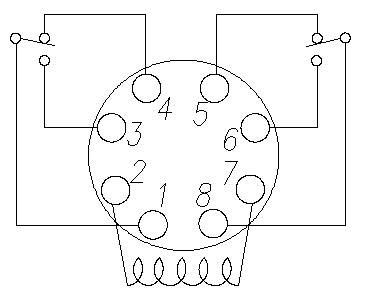 2 Pole 8 Pin Relay Pinout Diagram Jacob In 2019 Wire