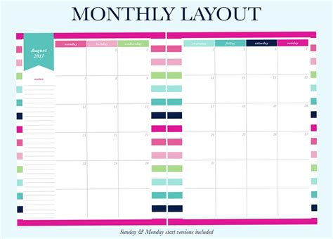 planner layout finally a planner that matches your planning needs