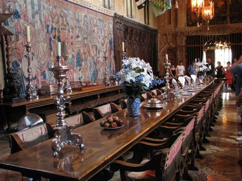 Hearst Castle Dining Room Hearst Castle Dining Room Tabletop