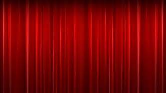 Theater Curtain Fabric Crossword Red Velvet Theater Curtain With Alpha Chanell Stock