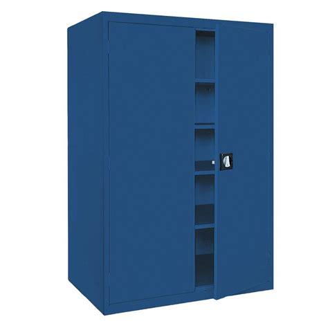 72 steel storage cabinet sandusky elite series 72 in h x 36 in w x 18 in d 5