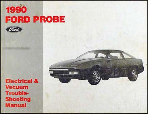 1990 probe and festiva plus 1991 escort tracer engine diagnosis manual