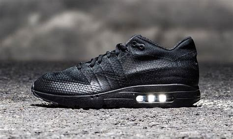 the nike air max 1 ultra flyknit black is an instant winner highsnobiety