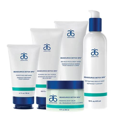 Detox Salt Scrub by Express Set 9890 Arbonne Dive Into Detoxification