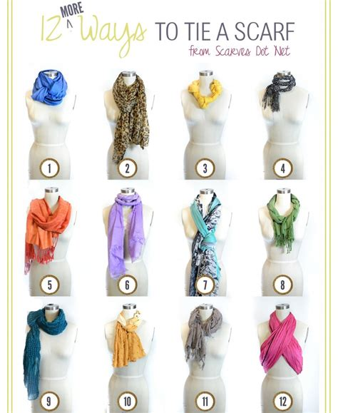 ways to tie a scarf for hairstyle 2013