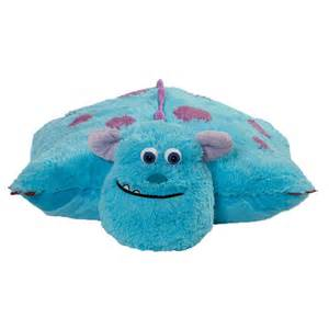 sulley monsters inc disney pillow pet soft