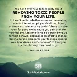 remove toxic people from your life by daniell koepke