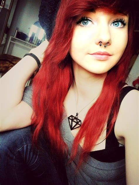 gothic girl with bright red hair 17 cool halloween red hair scene girls and boys pinterest my hair