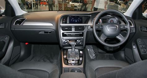Audi A4 Custom Interior by File 2012 Audi A4 B8 Interior Jpg Wikimedia Commons