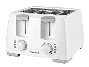 Best Deals On Toaster Ovens Black Amp Decker T4101 White 4 Slice Toaster Amazon Ca