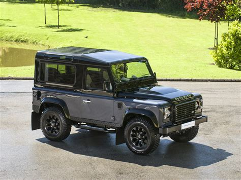 land rover defender autobiography stock tom hartley jnr