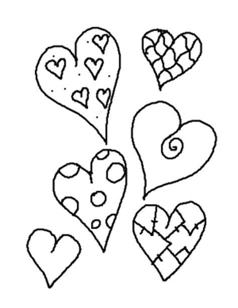 color my hearts coloring book one books corazones para colorear pintar e imprimir
