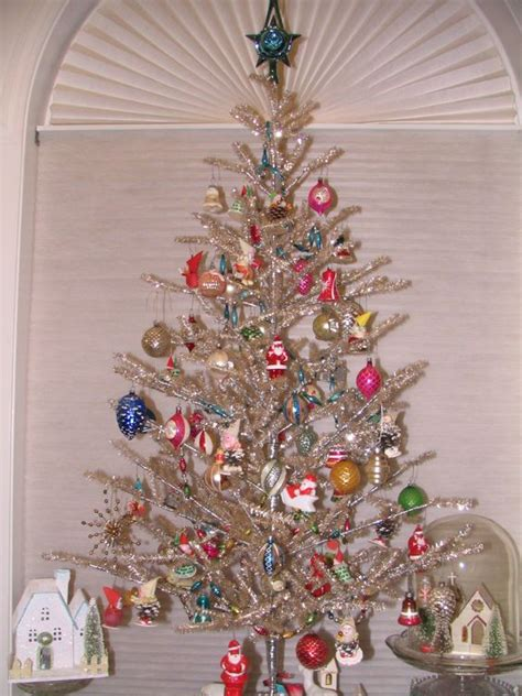 vintage tinsel tree vintage tinsel tree time trees vintage and tinsel tree